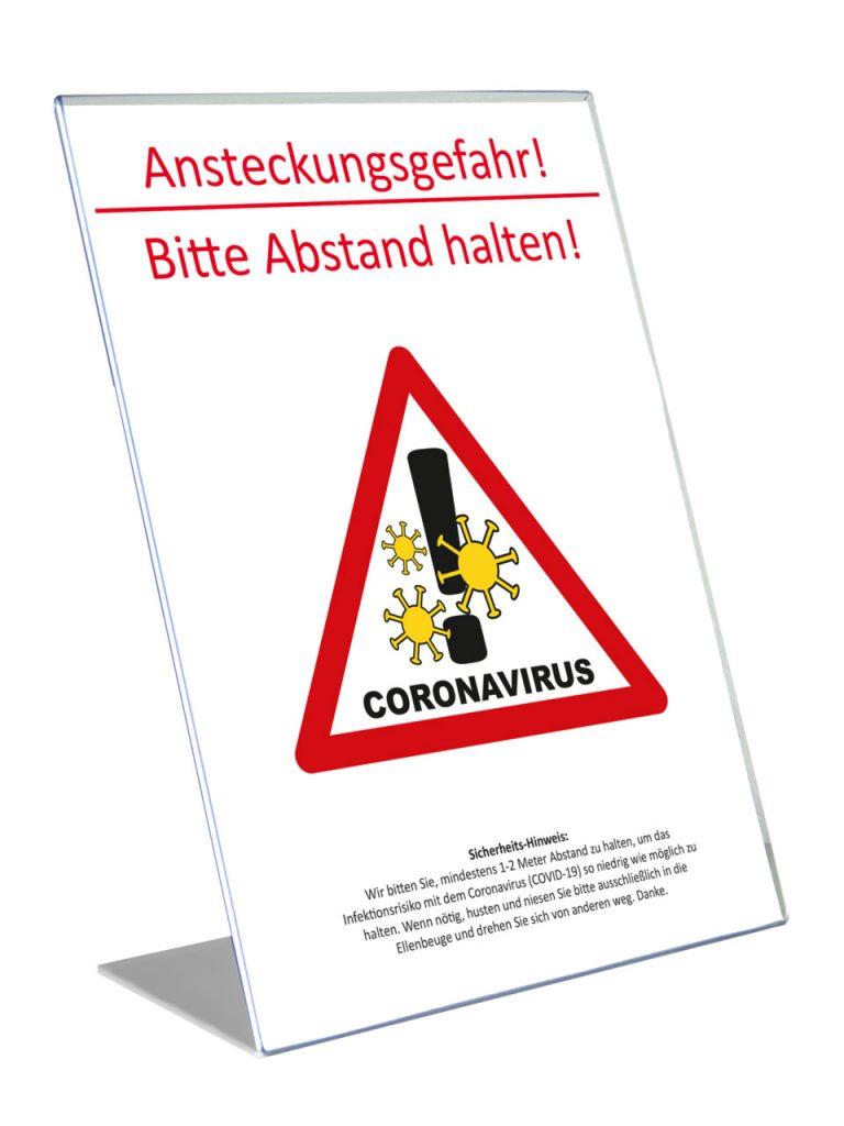 Theken u Tresen transparent für Corona: INFEKTIONS-Schutz Aufsteller